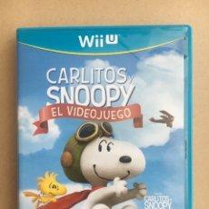 Nintendo Wii U: JUEGO NINTENDO WII U - CARITOS Y SNOOPY EL VIDEOJUEGO - COMPLETO PAL ESPAÑA. Lote 173553900