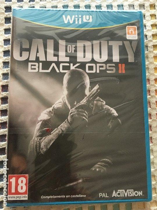 CALL OF DUTY BLACK OPS II COD BO 2 PRECINTADO NINTENDO WII-U WIIU KREATEN (Juguetes - Videojuegos y Consolas - Nintendo - Wii U)