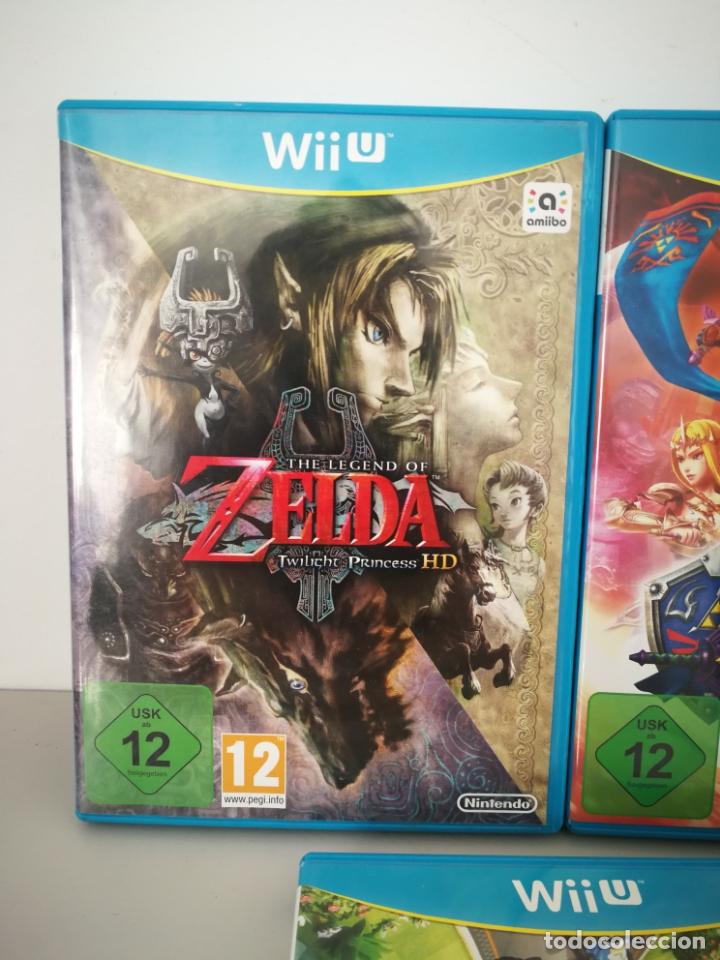 Nintendo Wii U: LOTE JUEGOS NINTENDO WII U WIIU MARIO ZELDA - Foto 2 - 177284692