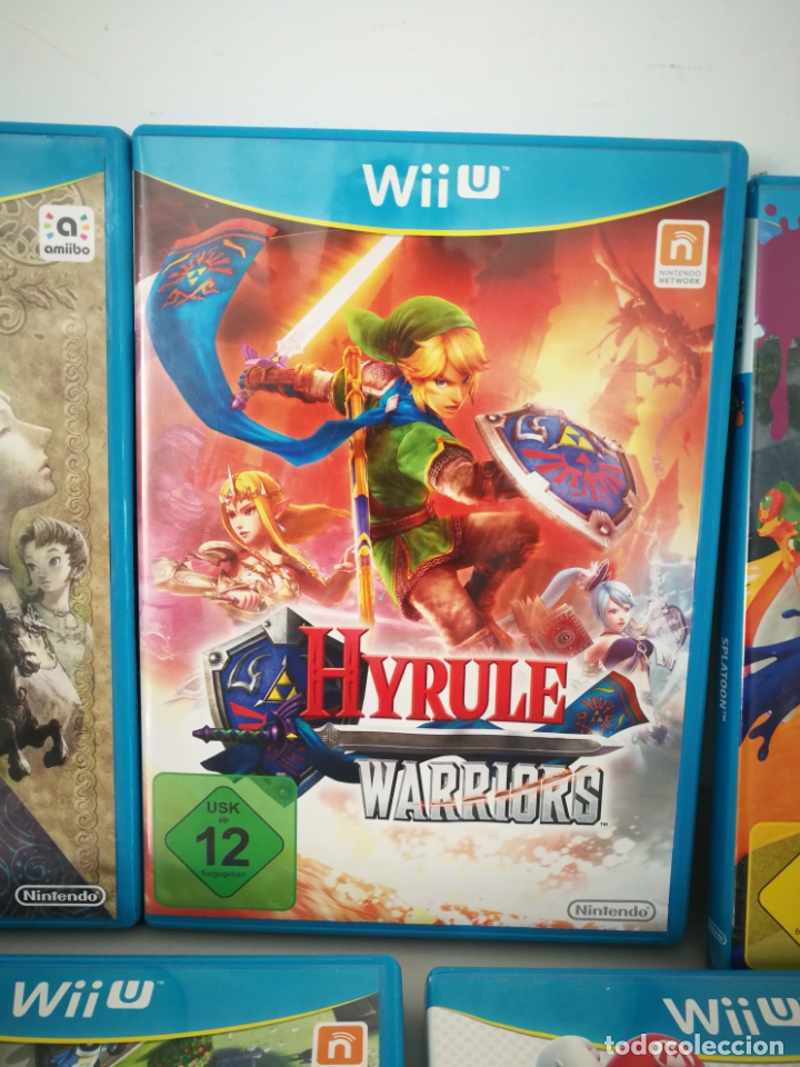 Nintendo Wii U: LOTE JUEGOS NINTENDO WII U WIIU MARIO ZELDA - Foto 3 - 177284692