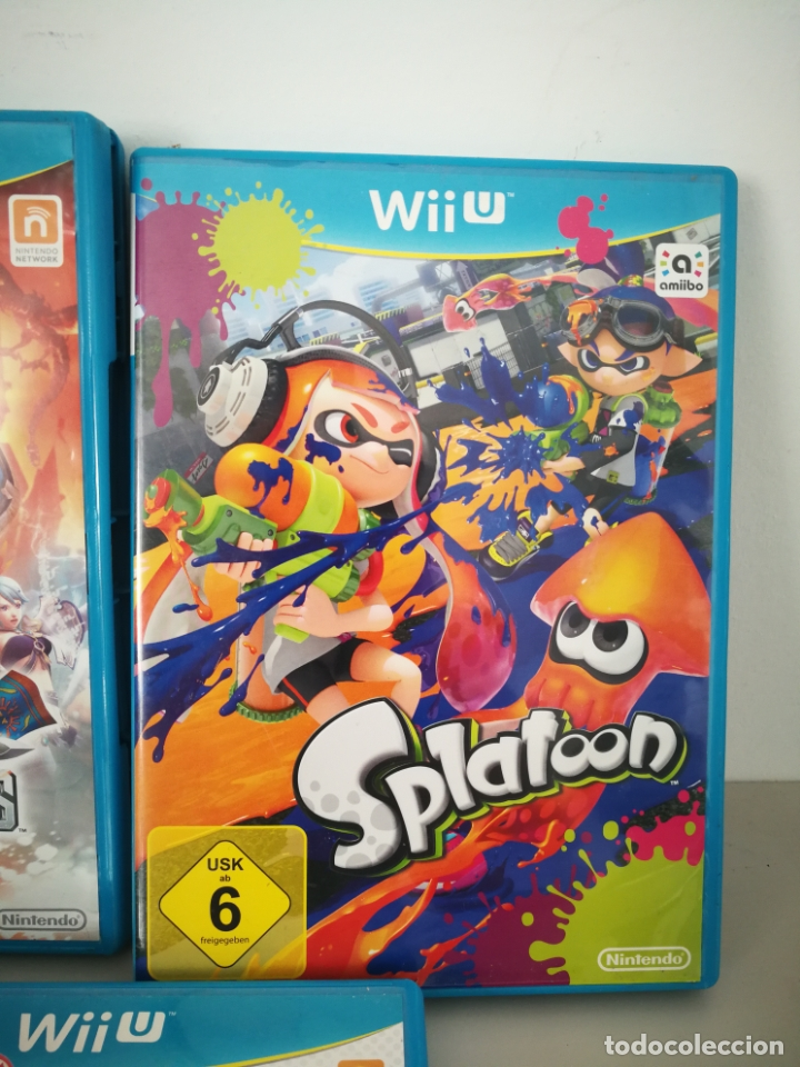 Nintendo Wii U: LOTE JUEGOS NINTENDO WII U WIIU MARIO ZELDA - Foto 4 - 177284692