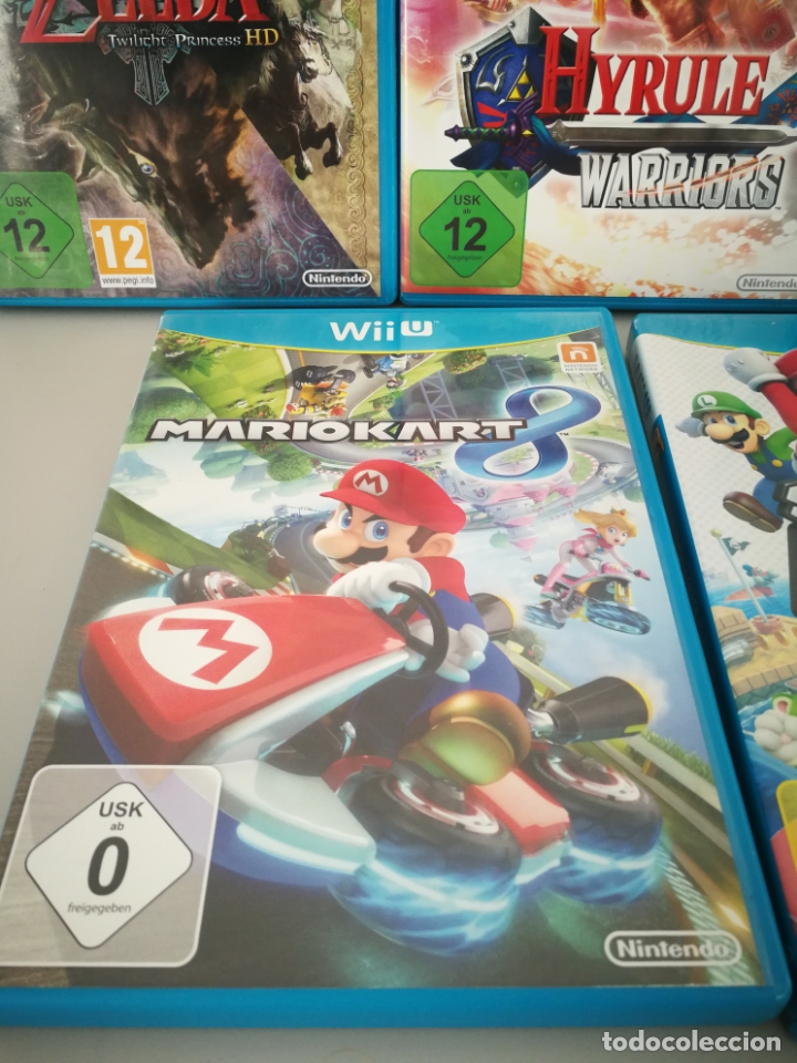 Nintendo Wii U: LOTE JUEGOS NINTENDO WII U WIIU MARIO ZELDA - Foto 5 - 177284692