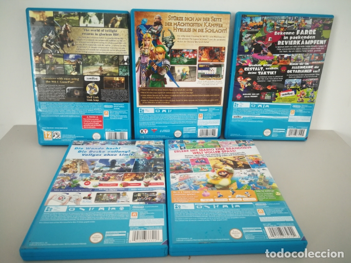 Nintendo Wii U: LOTE JUEGOS NINTENDO WII U WIIU MARIO ZELDA - Foto 7 - 177284692