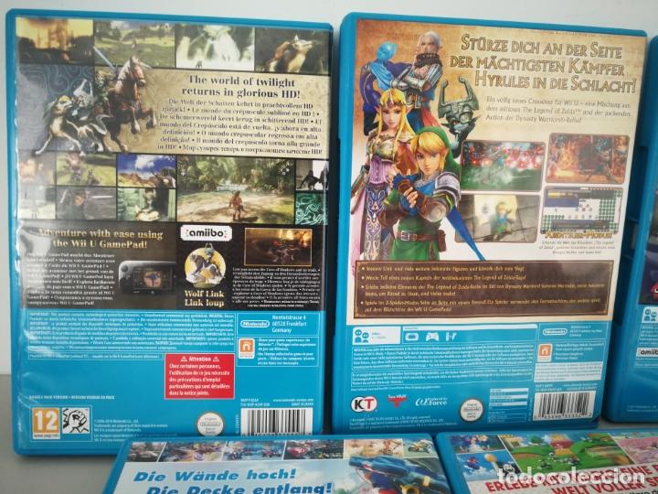 Nintendo Wii U: LOTE JUEGOS NINTENDO WII U WIIU MARIO ZELDA - Foto 8 - 177284692