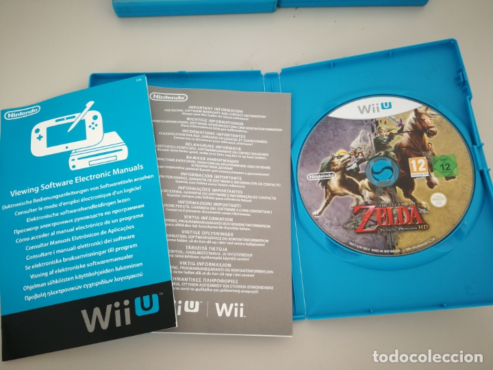 Nintendo Wii U: LOTE JUEGOS NINTENDO WII U WIIU MARIO ZELDA - Foto 11 - 177284692