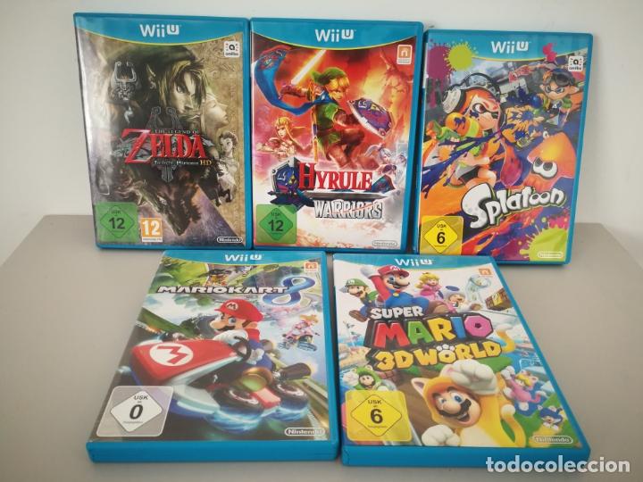 LOTE JUEGOS NINTENDO WII U WIIU MARIO ZELDA (Juguetes - Videojuegos y Consolas - Nintendo - Wii U)