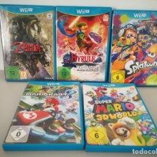 Nintendo Wii U: LOTE JUEGOS NINTENDO WII U WIIU MARIO ZELDA. Lote 177284692