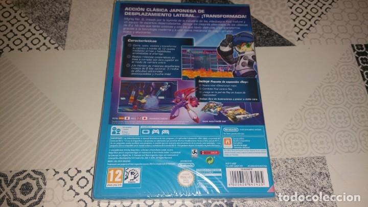 Nintendo Wii U: MIGHTY N° 9 NINTENDO WII U PAL ESPAÑA PRECINTADO CON LIBRETO POSTER - Foto 2 - 181537707