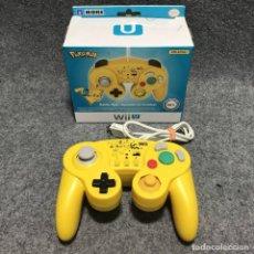 Nintendo Wii U: HORI BATTLE PAD POKEMON PIKACHU NINTENDO WII U. Lote 203870318
