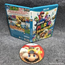 Nintendo Wii U: SUPER MARIO 3D WORLD NINTENDO WII U. Lote 183724430