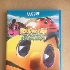 Nintendo Wii U: JUEGO NINTENDO WII U - PACMAN Y LAS AVENTURAS FANTASMALES - COMPLETO PAL ESPAÑA. Lote 184704113