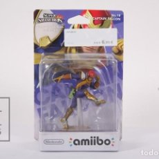 Nintendo Wii U: AMIIBO NINTENDO - CAPTAIN FALCON Nº 18 / SUPER SMASH BROS COLLECTION - PRECINTADO. Lote 191900271