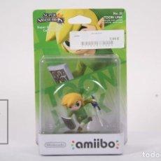 Nintendo Wii U: AMIIBO NINTENDO - TOON LINK ZELDA Nº 22 / SUPER SMASH BROS COLLECTION - PRECINTADO. Lote 191900277