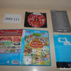 Nintendo Wii U: WII U - ANIMAL CROSSING , AMIBO FESTIVAL , PAL EUROPEO , COMPLETO. Lote 193273606