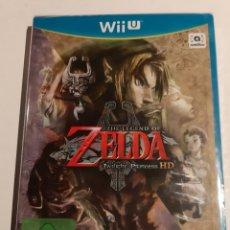 Nintendo Wii U: ZELDA TWILIGHT PRINCESS HD WII U PRECINTADO. Lote 193968886