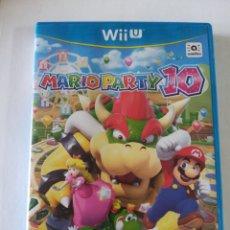 Nintendo Wii U: MARIO PARTY 10 PARA WII U. Lote 193994063