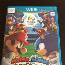 Nintendo Wii U: JUEGO MARIO Y SONIC RIO 2016 WII U. Lote 194154088