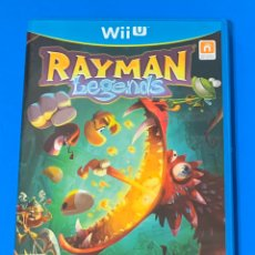 Nintendo Wii U: RAYMAN LEGENDS WII U PAL ESPAÑA, COMO NUEVO. Lote 194187252