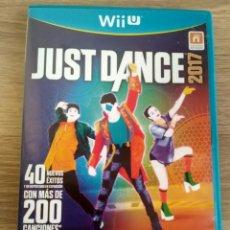 Nintendo Wii U: NINTENDO WII U JUEGO JUST DANCE 2017. Lote 194528960