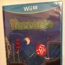 Nintendo Wii U: JUEGO TERRARIA PARA NINTENDO WII U, PAL ESPAÑA NUEVO PRECINTADO. Lote 195670370