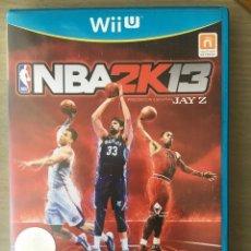 Nintendo Wii U: JUEGO NBA 2K13 PARA NINTENDO WII U, PAL ESPAÑA. Lote 195670713