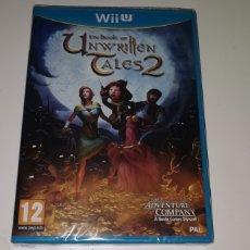 Nintendo Wii U: THE BOOK OF UNWRITTEN TALES NINTENDO WII U PAL ESPAÑA NUEVO PRECINTADO. Lote 202659148