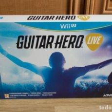 Nintendo Wii U: GUITAR HERO LIVE WII U. Lote 203850897