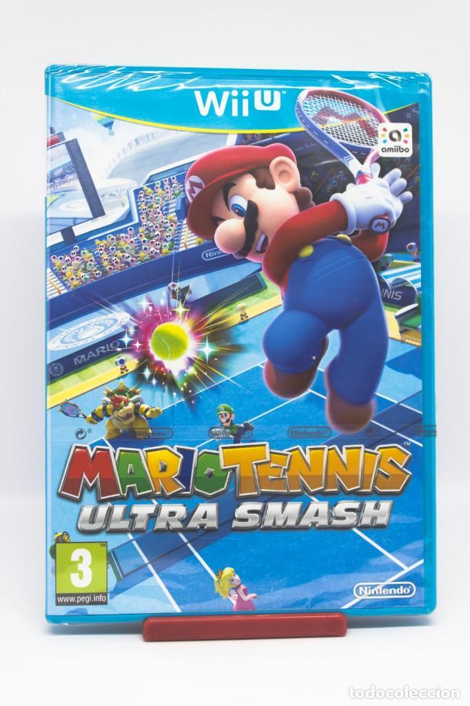 MARIO TENNIS ULTRA SMASH WII U (PRECINTADO) (Juguetes - Videojuegos y Consolas - Nintendo - Wii U)