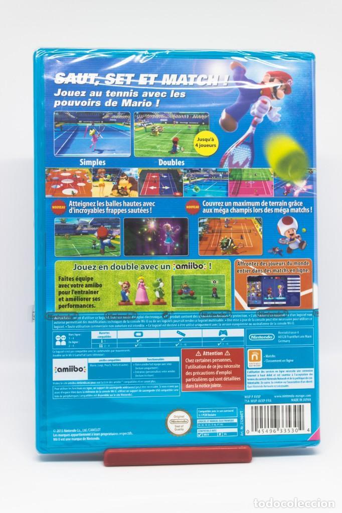 Nintendo Wii U: MARIO TENNIS ULTRA SMASH WII U (PRECINTADO) - Foto 2 - 203854273