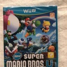 Nintendo Wii U: NEW SUPER MARIO BROS U NUEVO Y PRECINTADO WII U PAL ESPANA. Lote 203879758