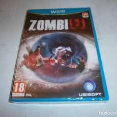 Nintendo Wii U: ZOMBI U NINTENDO WII U PAL NUEVO. Lote 204734095