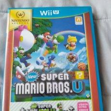 Nintendo Wii U: MARIO BROS U + LUIGI U WII U. Lote 205308323
