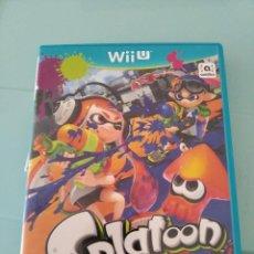 Nintendo Wii U: SPLATOON WII U. Lote 209028133