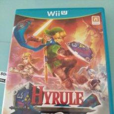 Nintendo Wii U: HYRULE WARRIORS WII U. Lote 209028565