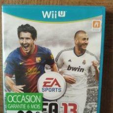 Nintendo Wii U: FIFA 13 - NINTENDO WII U- PAL FUNCIONANDO. Lote 210026586