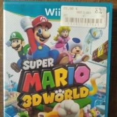 Nintendo Wii U: SUPER MARIO 3D WORLD - NINTENDO WII U- PAL -. Lote 210027592