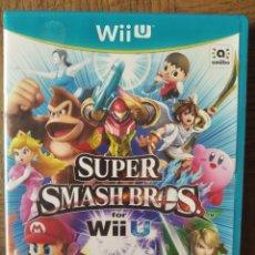 Nintendo Wii U: SUPER SMASH BROS - NINTENDO WII U- PAL -. Lote 210027691