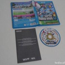 Nintendo Wii U: NINTENDO WII U - NEW SUPER MARIO BROS U + LUIGI ED. ESPAÑOLA EN MUY BUEN ESTADO WOWWWWWWWWWW. Lote 210585423