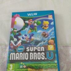 Nintendo Wii U: NEW SUPER MARIO BROS U WII U. Lote 210950745