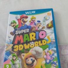 Nintendo Wii U: SUPER MARIO 3D WORLD WII U. Lote 210950840