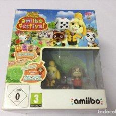 Nintendo Wii U: ANIMAL CROSSING AMIIBO FESTIVAL. Lote 212732193