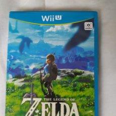 Nintendo Wii U: ZELDA BREATH OF THE WILD WII U. Lote 213099928