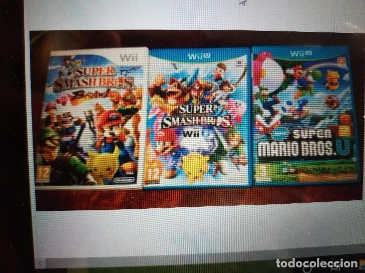 Nintendo Wii U: videojuegos super smash bros y super mario bross lote de 3 juegos - Foto 3 - 215792806