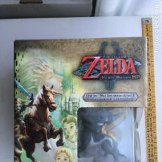 Nintendo Wii U: THE LEGEND OF ZELDA TWILIGHT PRINCESS HD WOLF LINK AMIIBO AUDIO CD WIIU NINTENDO WII U KREATEN NUEVO. Lote 217374875
