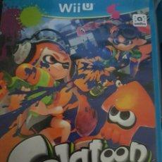 Nintendo Wii U: SPLATOON NINTENDO WI U VIDEOJUEGO DESCATALOGADO DIFICIL RARO BUEN ESTADO. Lote 219603976