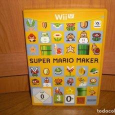 Nintendo Wii U: CAJA EN PERFECTO ESTADO DEL JUEGO SUPER MARIO MAKER PARA WIIU, VERSIÓN ESPAÑOLA - NINTENDO WII U. Lote 220131045