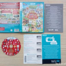 Nintendo Wii U: JUEGO NINTENDO WII U - ANIMAL CROSSING AMIIBO FESTIVAL. Lote 220275121