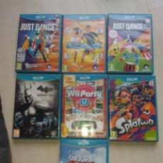 Nintendo Wii U: LOTE JUEGOS NINTENDO WI U. DIFICILES DE ENCONTRAR. DESCATALOGADO RARO. Lote 220436871