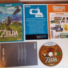 Nintendo Wii U: ZELDA BREATH OF THE WILD NINTENDO WII U. Lote 221319092