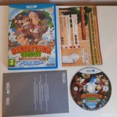 Nintendo Wii U: DONKEY KONG COUNTRY TROPICAL FREEZE NINTENDO WII U. Lote 221319138